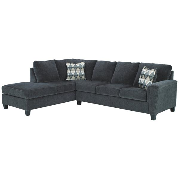See Details - Abinger 2-piece Sectional With Chaise