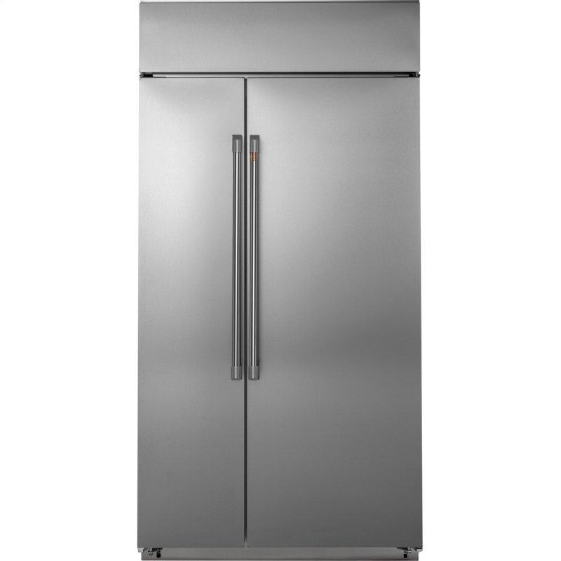"42"" Smart Built-In Side-by-Side Refrigerator"