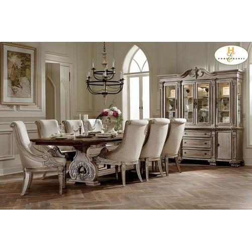 9PC SET (Table with 8 Arm Chairs)