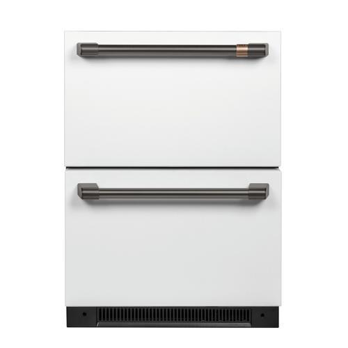 Café Undercounter Refrigeration Handle Kit - Brushed Black