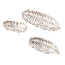 Daintree Leaf Tray Wall Decor - Set of 3