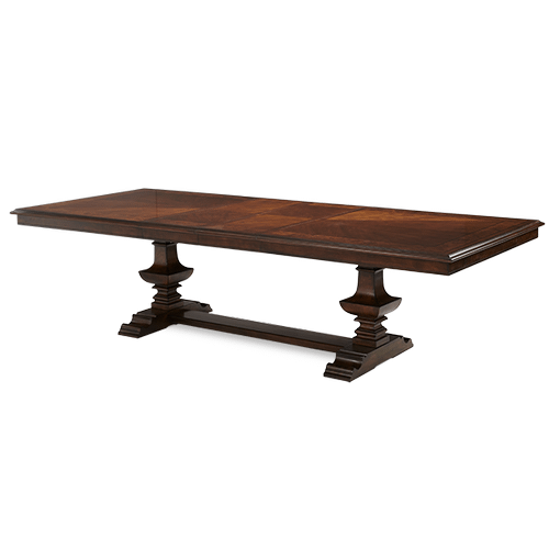 Rectangular Double Pedestal Table (2 pc)
