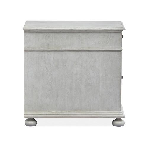 Chairside End Table - Grey