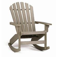Quick Ship Coastal Adirondack Rocker