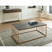Beatrix 3-Piece Occasional Set (Cocktail Table & 2 End Tables)