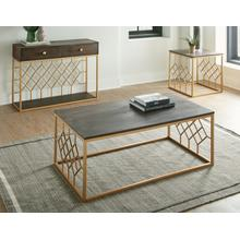View Product - Beatrix 3-Piece Occasional Set (Cocktail Table & 2 End Tables)
