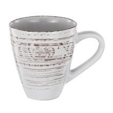 Rustic Flare Mug, White