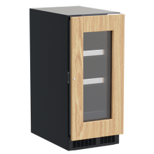 See Details - 15-In Professional Built-In Beverage Center With Reversible Hinge with Door Style - Panel Ready Frame Glass