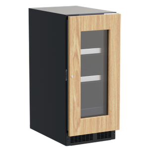 Marvel15-In Professional Built-In Beverage Center With Reversible Hinge with Door Style - Panel Ready Frame Glass