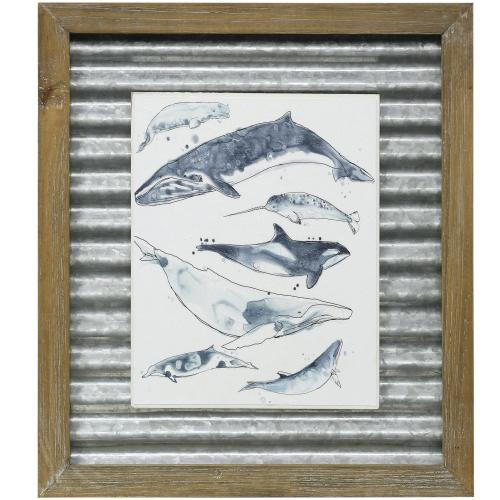 Style Craft - CATACEA I  16in X 14in  Made in the USA  Textured Framed Print