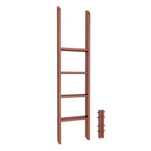 Straight Ladder for Mid Loft, L, and Parallel Bunk : Chestnut