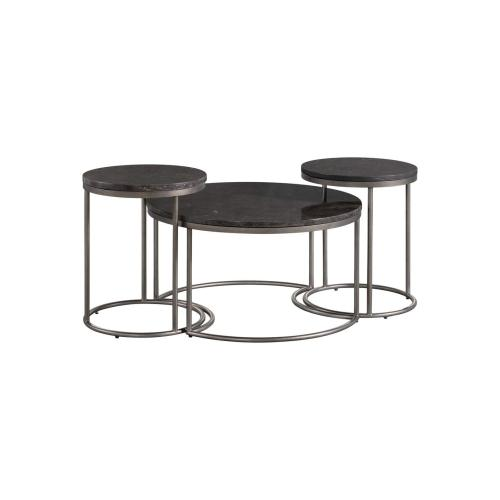 7635 Round Nesting Cocktail Table