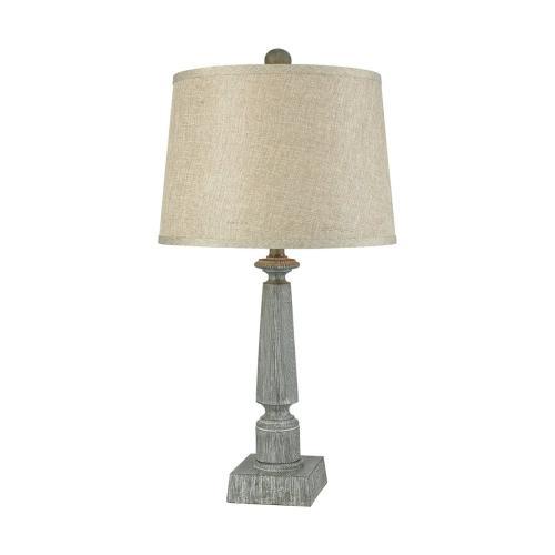 Stein World - Trice Table Lamp In Restoration Grey