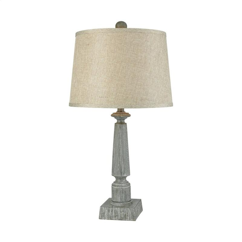 Trice Table Lamp In Restoration Grey