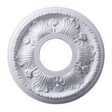 See Details - Acanthus Medallion 11 Inch in White Finish