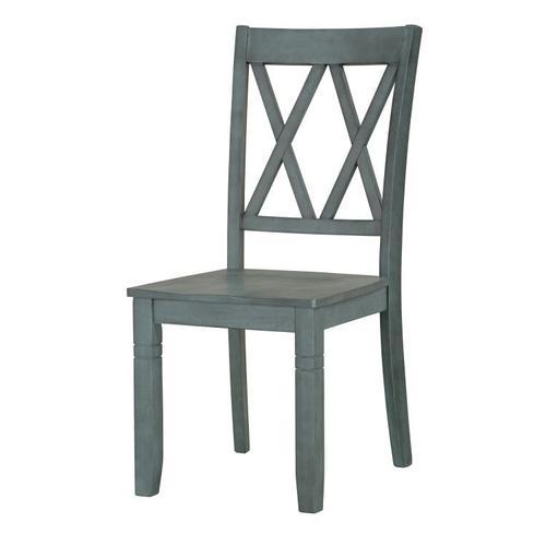 Standard Furniture - Benton X-Back Chairs, Seafoam
