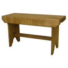 See Details - Bucket Bench