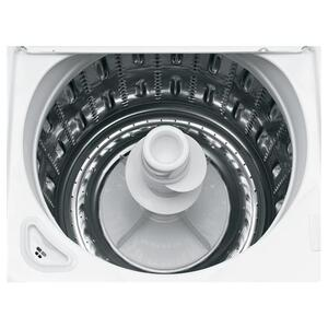 GE® 3.9 DOE cu. ft. stainless steel capacity washer