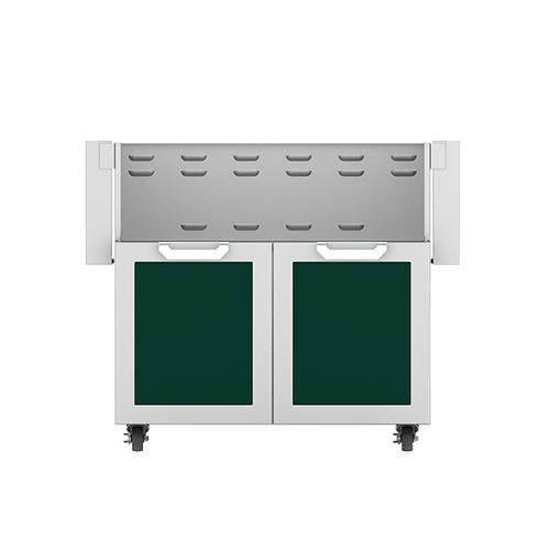 """36"""" Hestan Outdoor Tower Cart with Double Doors - GCD Series - Grove"""