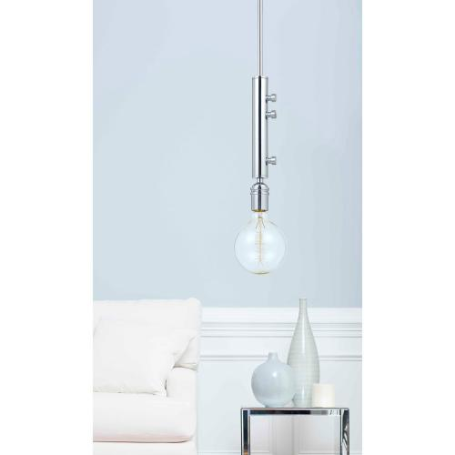 60W George Metal Mini Pendant With (Edison Bulbs included)
