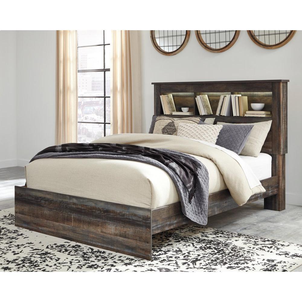Drystan Queen Bookcase Bed