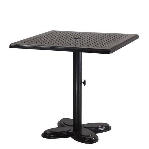 "Gensun Casual Living - Lotus Pedestal Table Pole For 29"" Dining Height Table with Lotus Lotus Pedestal Table Base"