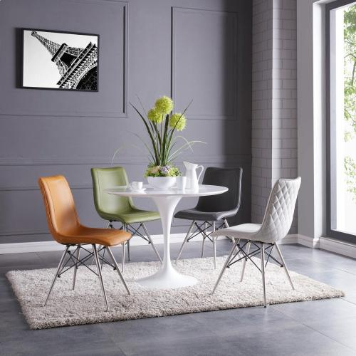 """Product Image - Allie 39"""" Round Dining Table, White"""