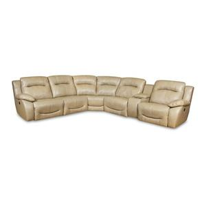 5 c sectional w/ 2 Recliners