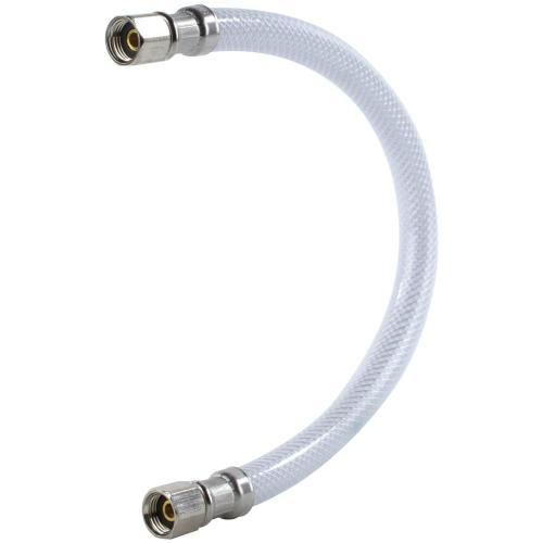 """PVC Ice Maker Connector with 1/4"""" Compression, 1ft"""