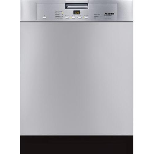 G 4228 SCU AM - Pre-finished, full-size dishwasher with visible control panel, cutlery tray and 5 Programs