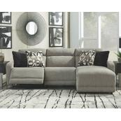 Colleyville 3-piece Power Reclining Sectional With Chaise