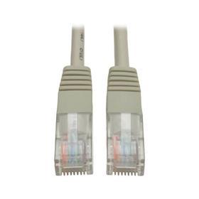Cat5e 350 MHz Molded (UTP) Patch Cable (RJ45 M/M) - Gray, 15 ft.