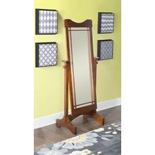 Cheval Mirror, Brown