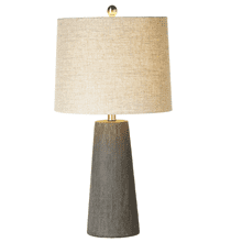 Cross Hatch Texture Table Lamp. 150W Max. 3 Way Switch.