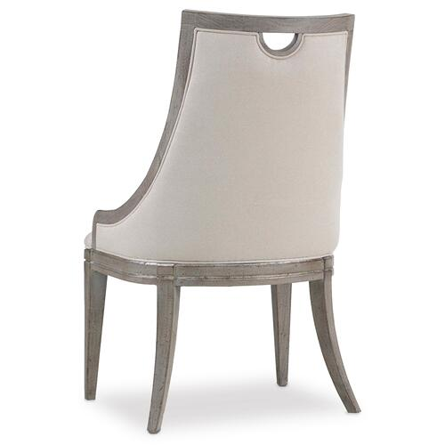 Sanctuary Upholstered Side Chair - 2 per carton/price ea