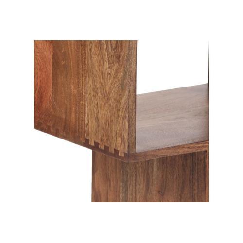 Portola Walnut 2 Cube Bookcase, 2001-1212WW