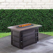 Hanover Chateau 30,000 BTU Gas Fire Pit Coffee Table, CHATEAUFP-REC