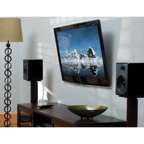 "Black HDpro Super Slim Tilting Wall Mount; For 32"" - 50"" flat-panel TVs"