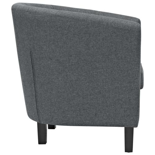 Prospect 2 Piece Upholstered Fabric Loveseat and Armchair Set in Gray