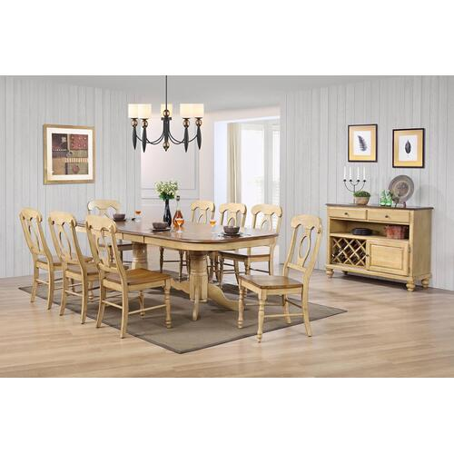 Product Image - Double Pedestal Extendable Dining Set w/Server (10 piece)