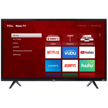 "TCL 32"" CLASS 3-SERIES HD LED ROKU SMART TV - 32S321"