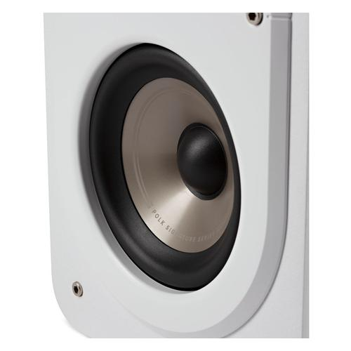 High Resolution Home Theater Compact Bookshelf Speaker in White