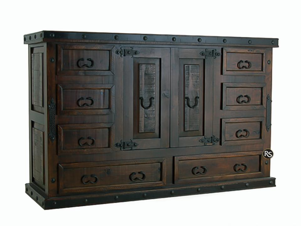Gran Hacienda 8-Drawer 2-Door Dresser