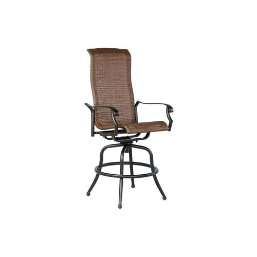 Naples Bar Swivel Arm Chair