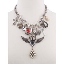 BTQ MJ Wings and Queens Necklace
