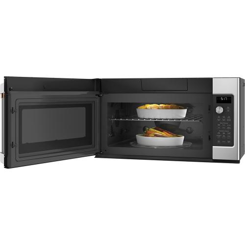 Café 1.7 Cu. Ft. Convection Over-the-Range Microwave Oven Stainless Steel