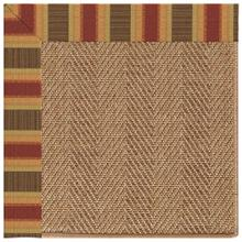 "Islamorada-Herringbone Dimone Sequoia - Rectangle - 24"" x 36"""