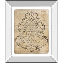 Letter Crest I Vintage V2 By Wild Apple Portfolio