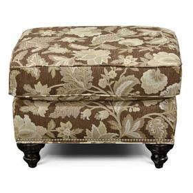 Stacy Ottoman with Nails