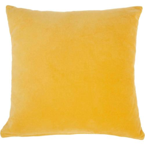 "Life Styles Ss900 Yellow 16"" X 16"" Throw Pillow"